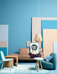 mit blautönen einrichten schöner wohnen