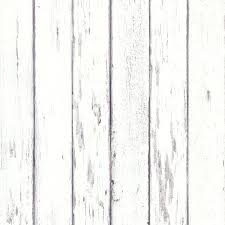 White Wood Board Distressed Wallpaper Rustic Appeal Lowes Whiteboard Texture