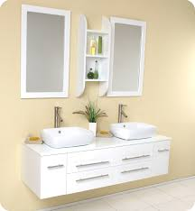 Mino 500 Drawer Unit And Basin White Gloss Bathstore