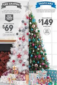 Creative Inspiration Christmas Trees Target Australia Black Friday With Regard To Artificial White