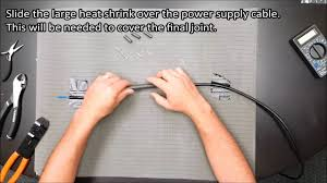 Easy Heat Warm Tiles Thermostat Problems by How To Repair A Factory Joint On A Warmup Heating Cable Youtube