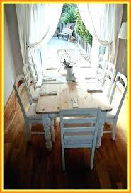 Shabby Chic Dining Set Table Decor Room