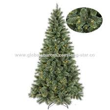 Lighted China 7ft New Design PE PVC Christmas Tree
