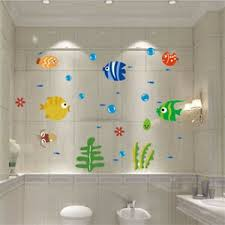 details zu ozean seefisch pvc abnehmbare wand wandaufkleber kinderzimmer bad kunst dek a2a0