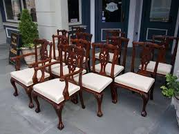 Mahogany Dining Room Set Contemporary Ideas Antique Table Smart Idea Chairs Impressive
