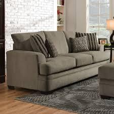 American Furniture Manufacturing Sofas 3653 Cornell Pewter Sofa
