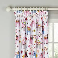Lined Curtains John Lewis by Buy Little Home At John Lewis Abbey Elephant Pencil Pleat Blackout