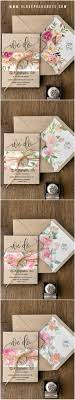 Fc1e48ea0c8f52ea449b8ac63d380370 Simple Floral Wedding Invitations Natural Invites