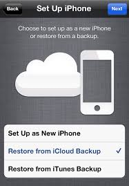 iCloud Restore In plete – Symbolicating