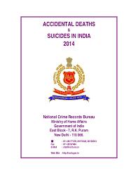 crime bureau and suicides in india 2014 national crime records bureau