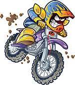 Bike BMX Dirt Rider