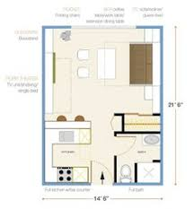 Image Result For 300 Square Foot Apartment