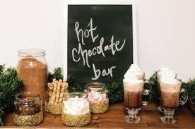 Bar Display Ideas Inspiration Chocolate Cool Wedding Creative Drinks Rustic Food Winter