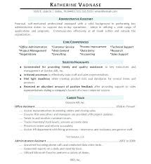 Administrative Executive Resume Dentist Template Beautiful Admin Format Awesome Assistant