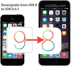 How to Downgrade from iOS 9 Back to iOS 8 4 1
