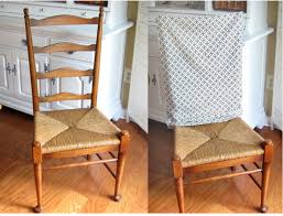 No Sew Decorating Ideas For Dining Chairs