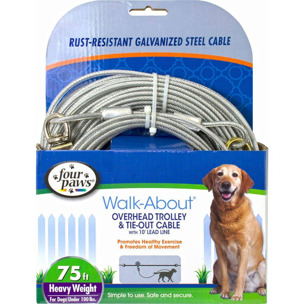 Four Paws Heavy Weight Dog Trolley Exerciser