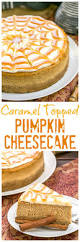 Pumpkin Pie Cheesecake Snickerdoodles by Caramel Topped Pumpkin Cheesecake That Skinny Can Bake