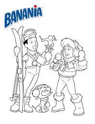 Coloriage 1 2 3 Bo Coloriages Pour Les 3 4 Ans Enfant Skieur A