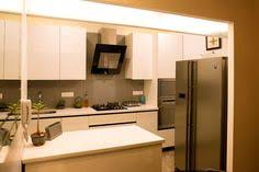 Large Kitchen With Marble Countertop Design By Shahen Mistry Interior Designer In Mumbai India