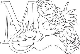Free Printable Monkey Coloring Pages Cute And Funny Gianfreda Net