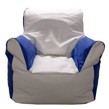 Marine Vinyl Bean Bag Arm Chair