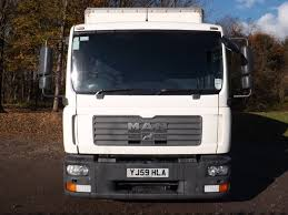 MAN TGL 8.180 7.5 Tonne Box Truck For Sale YJ59HLA | HGV Traders ...