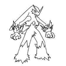 Coloring Pages Of Character Blaziken From Pokemon