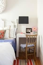 4 Disguise Your Desk As A Bedside Table