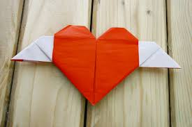 How To Fold A Heart With Wings 11 Steps Pictures