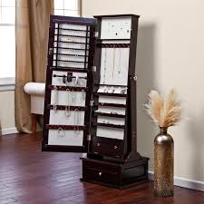 White Mirrored Jewelry Cabinet Armoire Canada by Floor Mirror Jewelry Cabinet 60 Best Armoire Images On Pinterest