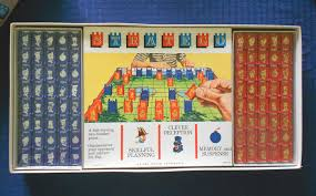 1962 Complete Vintage Milton Bradley Stratego Board Game In X SOLD GALLERY