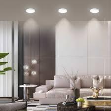 hartisan ultra dünnen led panel decke licht einfache led runden platz licht 3000k 4000k wohnzimmer korridor innen licht
