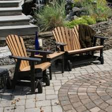 Premium Poly Patios Millersburg Oh by Poly Lumber Polywood Outdoor Conversational Sets