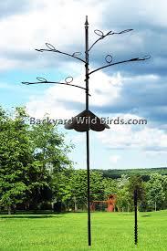 Bird Feeder Pole Tree