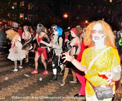 Greenwich Village Halloween Parade by Contemporary American Culture And Society The Greenwich Village