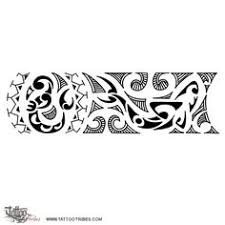 Polynesian Wrist Band New Start Strength This Tattoo Incorporates Some Elements Representing A Koru Protection And Balance