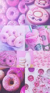 Emoji Cute Starbucks Wallpaper Inspirational Donut Donuts Pink Purple Pretty Hd