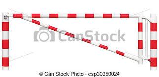 barre securite porte entree point blocker clair gated closeup secteur restreint