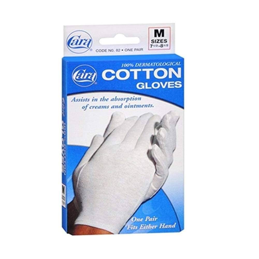 Cara Cotton Gloves - Medium