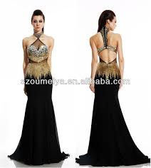 cheap black and gold dresses