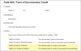 Best Of Bank Letter Credit Template Irrevocable Standby Selo
