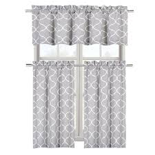 White Cotton Kitchen Curtains by Shop Amazon Com Window Tiers