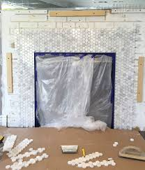 how to replace fireplace tile best image voixmag