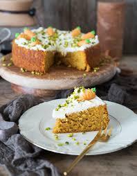 veganer und glutenfreier rüblikuchen karottenkuchen