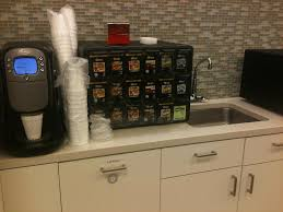 Coffee Area At My Office