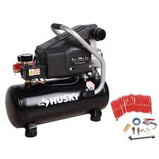 Husky 4 Gal Portable Electric Powered Air pressor BS1004W