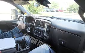 2014 Chevrolet Silverado Center Console, Interior Spotted! - Motor Trend 2019 Chevy Silverado 1500 Interior Radio Cargo App Specs Tour 20 Hd Cabin Spy Photos Gm Authority 2018 New Chevrolet 4wd Double Cab Standard Box Lt At Chevygmc Center Console Tape Deck Removal Youtube The Top 4 Things Needs To Fix For Speed 3500hd Reviews 1962 Panel Truck Remains On The Job Console Subs Lowrider Diy Projects Pinterest Safe 2014 Up Gmc Sierra Also 2015 42017 Front 2040 Split Bench Seat With Crew Short Rocky