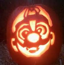 Mario Pumpkin Stencil by Extreme Pumpkin Carving For Halloween By Mb Creative Studio