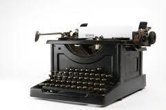 machine à écrire moderne et antique photo stock image 62679251